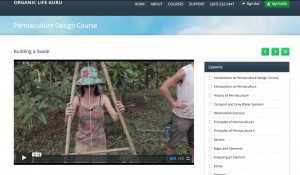 Permaculture Design Course Online_How to build a swale